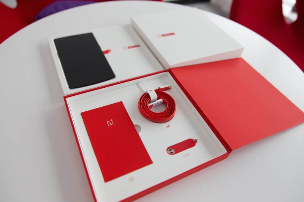 Unboxing des OnePlus One