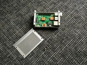 Raspberry Pi 2 mit Alu Gehäuse